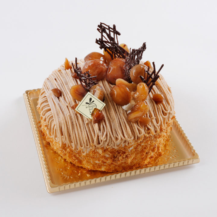栗のショートケーキ デコレーションケーキ