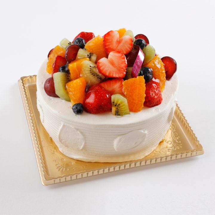 フルーツ・フレーズ デコレーションケーキ