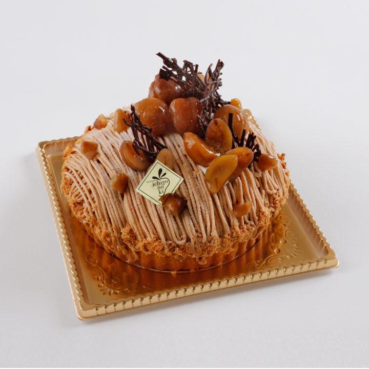 モンブラン ホールケーキ